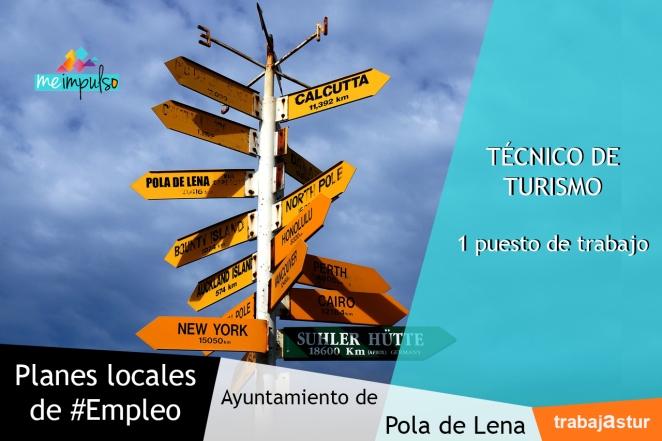 Me Impulso informa de la oferta de técnicos de turismo de los planes locales de empleo